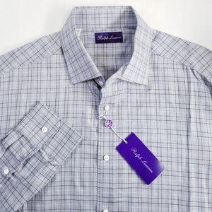 Ralph Lauren Purple Label Button Down Shirt Cotton